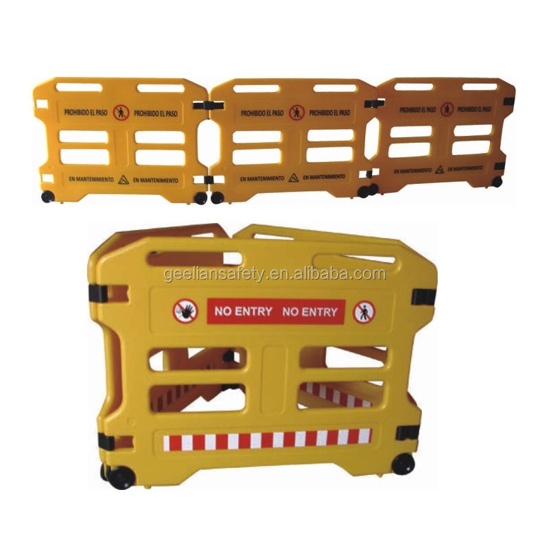 Highly Quality Traffic Road Security Plastic Safety Barrier Traffic Safety Road Barrier For Sale