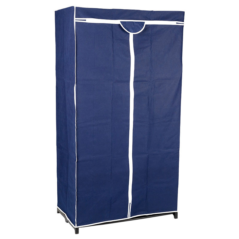 Removable storage detachable portable wardrobes modern design cloth cupboard folding wardrobe for bedroom