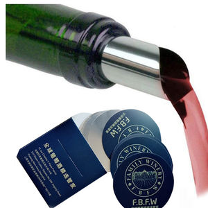Manufacturer Drip Stop Foil Disk Pourer and Drip Free Wine For Wine
