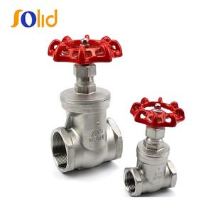Stainless steel threaded end gate valve Handle