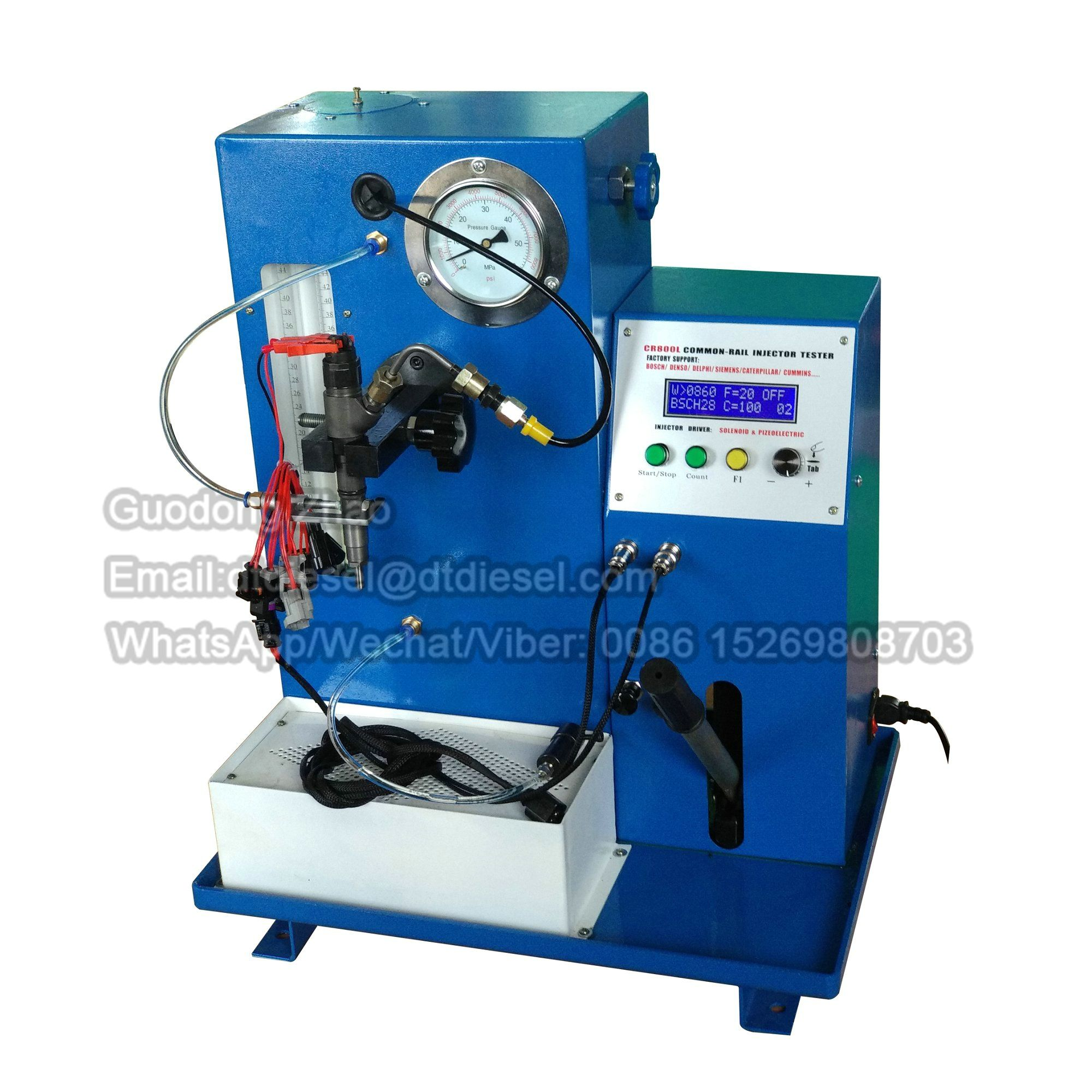 Common rail Injector Test Bench Model Tester With CR800L