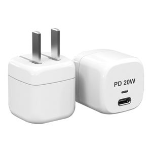Upgraded Nano 20W USB-C Power Adapter PD Charger Durable Compact Fast Charger for iPhone Galaxy iPad Nintendo Switch