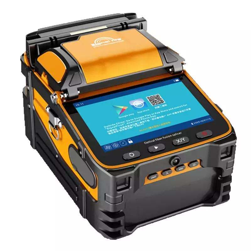6 Motor Automatic Fusion Machine Ai-9 Fiber Optic Fusion Splicer