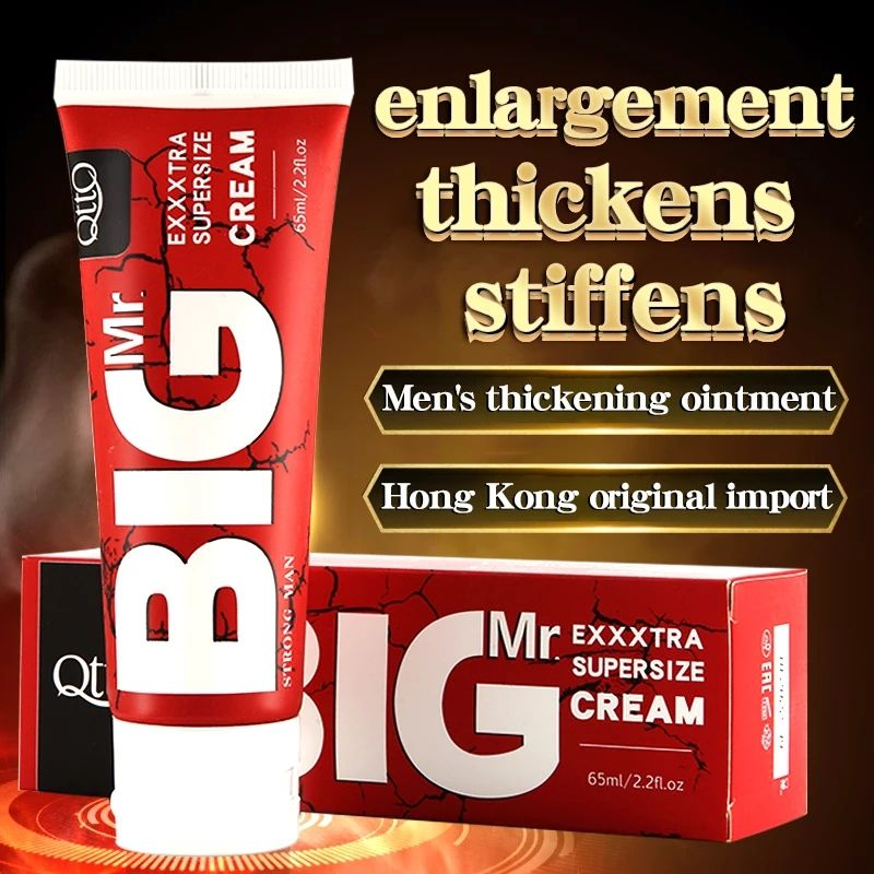 Hot Xxl Male Enhancement Cream Enlargement Gel Big Dick Massage Oil Increase Growth Cock Size Thickness for Men Care