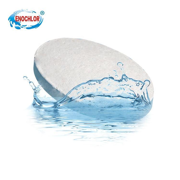 Los proveedores de hipoclorito de calcio 70% tabletas de cloro de la piscina de tratamiento de agua potable del ácido hipocloros