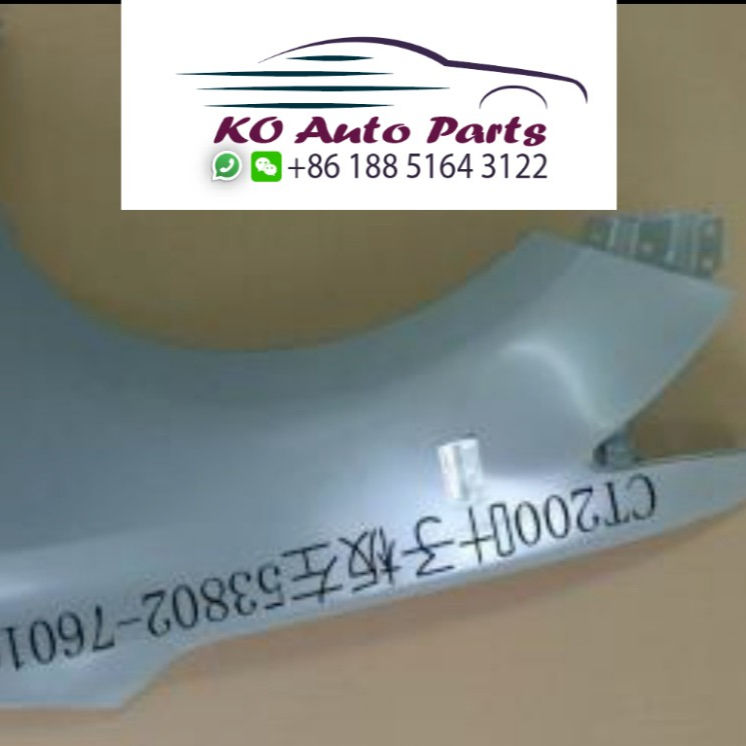 Left front fender for lexus CT CT200 CT200h 2013 2014 2015 2016 2017 2018 2019 edition