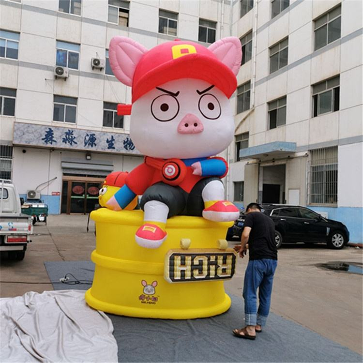 Inflatable Stage Event Decoration mascot character pig Cartoon Advertising Inflatable pink Pig