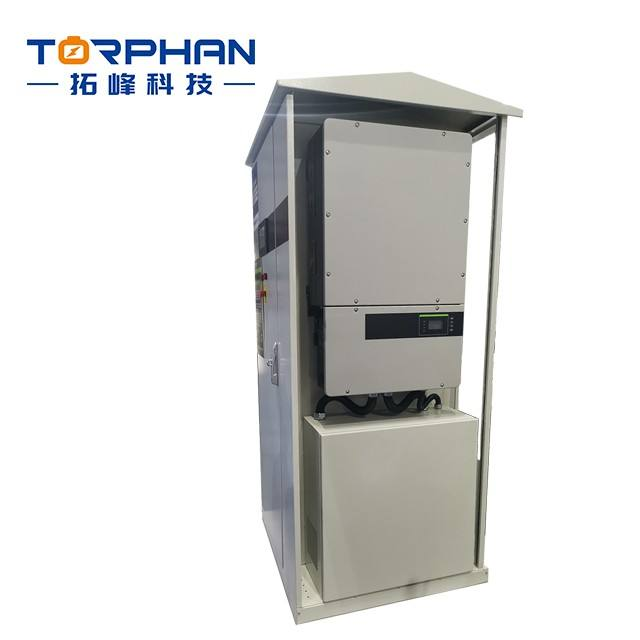 Hybrid Energy Storage System 5KW Hybrid Inverter Solar System With 20KW Lithium ion Battery CE