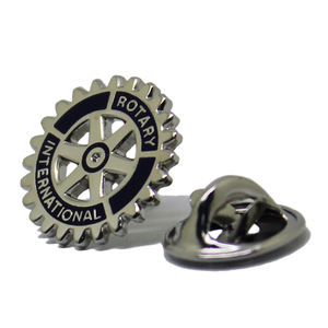 Venta al por mayor Promotionalcustomized decorativo de Metal engranajes placa duro Rotary Club