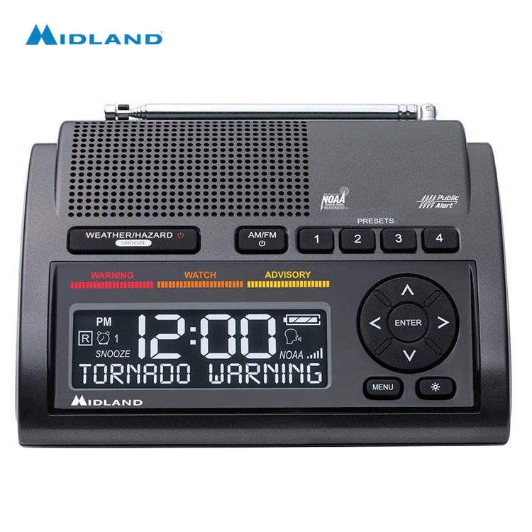 Midland WR400 dynamo emergency localized programming radio position indicating radio beacon