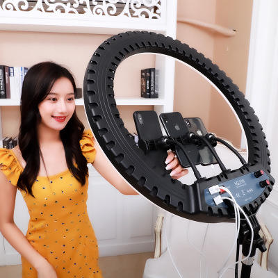 Amazon Photographic Light Phone Led Video Ring Light With Tripod Stand Camera Circle Selfie Led Ring Light