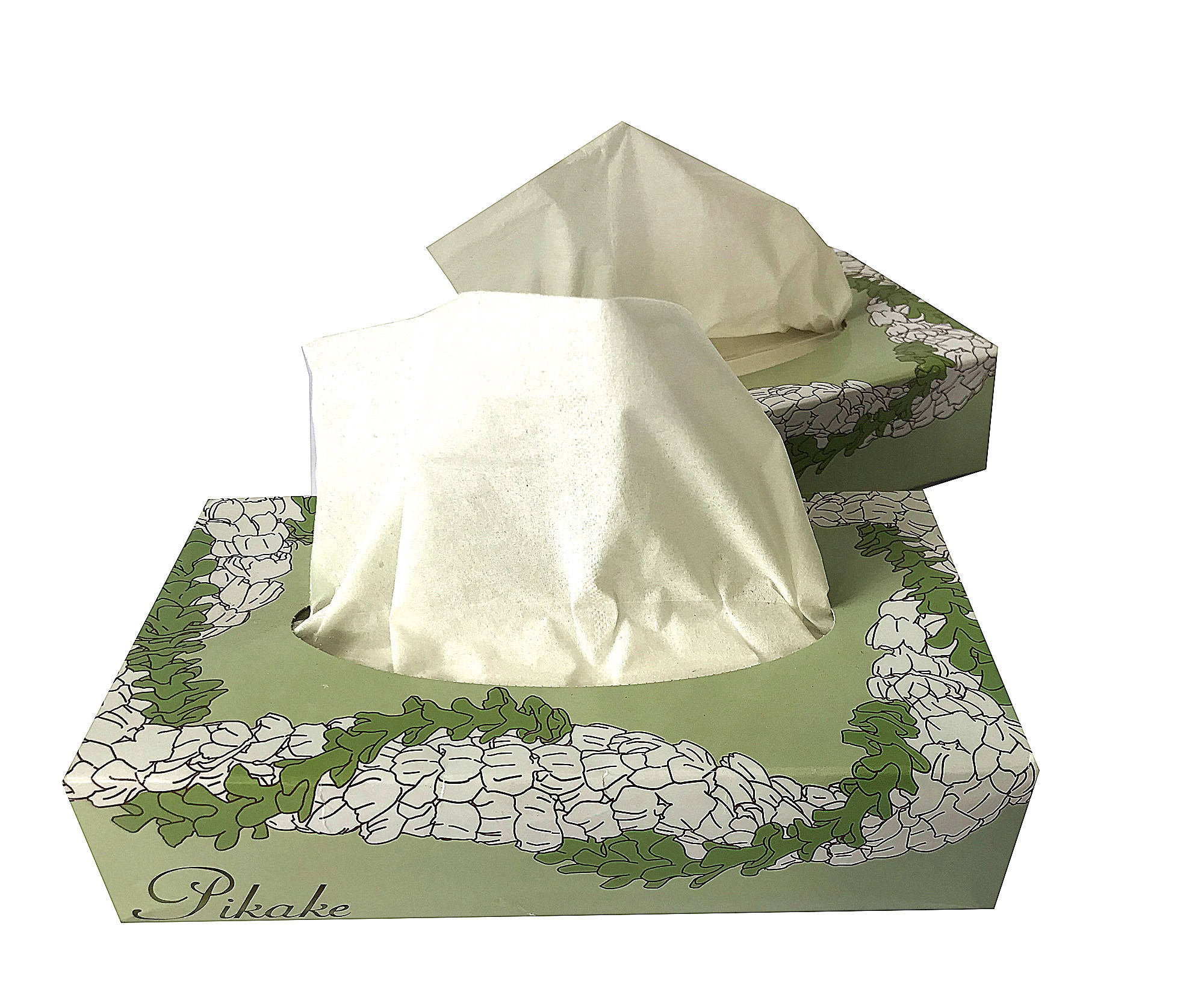 2 Ply Virgin Pulp Soft Box Facial Tissue With Strong Water Absorption nice facial tissue in China