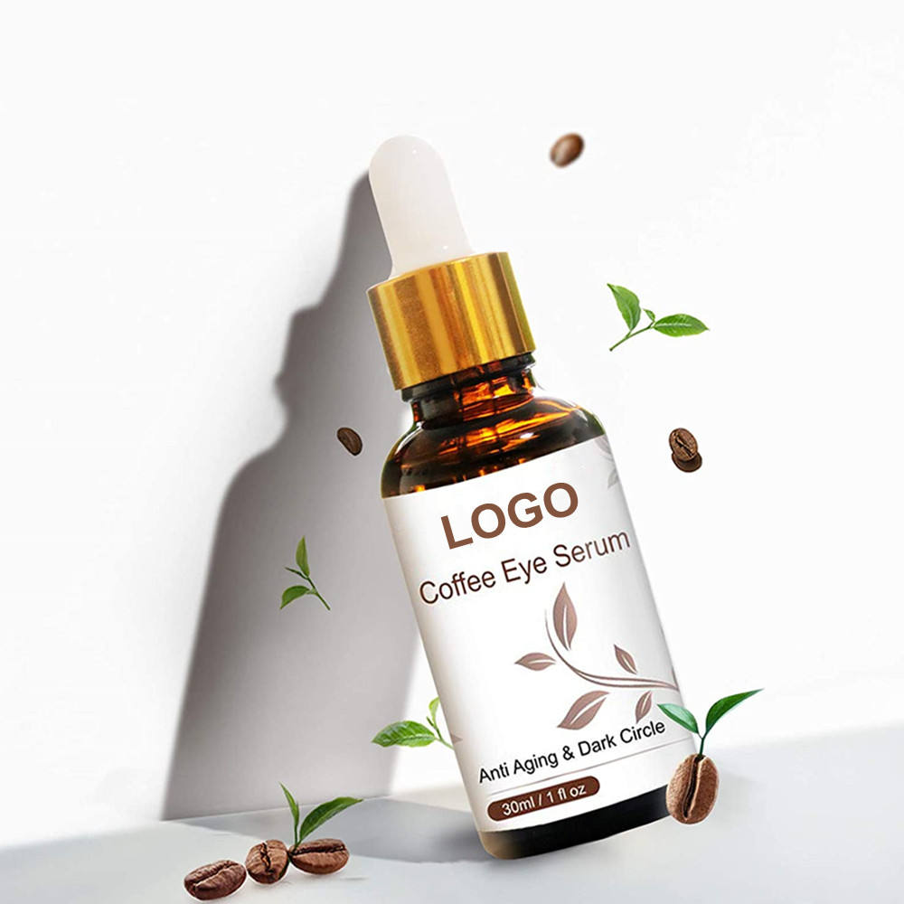 Private Label Organic Coffee Eye Puffiness Eye Care Serum