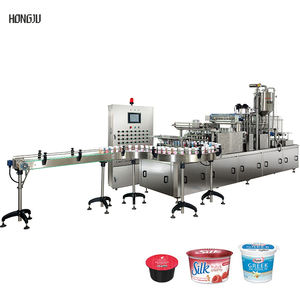 Automatic Plastic Drinking Various Cup Filling And Sealing Machine