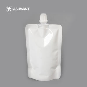 China Supplier reusable Stand Up Food Packaging Juice LIquid Spout Pouch