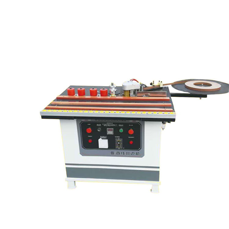 Furniture portable pvc melamine wood manual edge banding machine