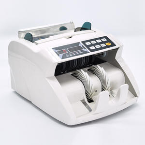 currency counterfeit detector money cash banknote counter bill counting machine