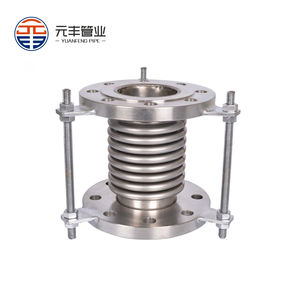 Stainless Steel 321 High Temperature Bellows Metal Expansion Joint