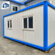 Best 20ft sandwich panel modern steel frame prefab container homes destachable tiny prefabricated casas wooden house