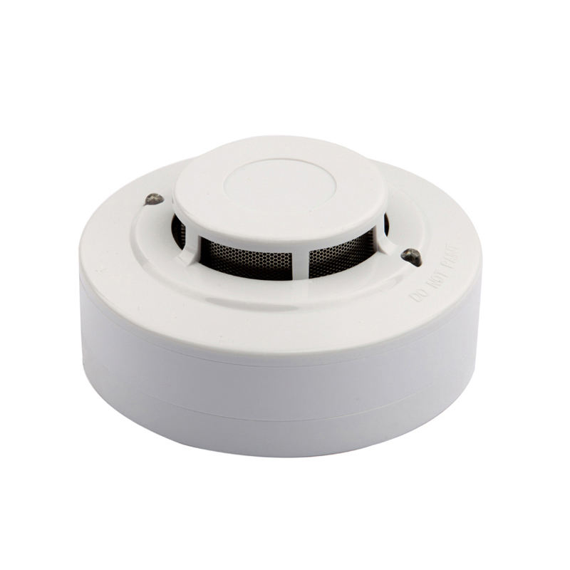 Battery-Powered 12/24 Volt Photoelectric Sensor Smoke Detector