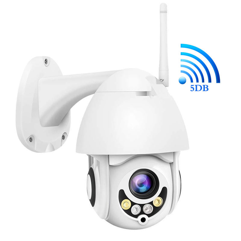 Hot Sale Full HD Wifi Camara PTZ P2P Auto Tracking PTZ Wireless Wifi Video Dome Camera 1080P Two Way Audio PTZ Cameras Outdoor