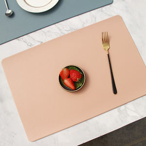 Fashion European thick PVC dining table mat