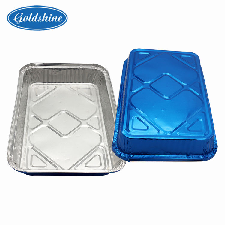 Aviation Catering Disposable Aluminium Foil Container