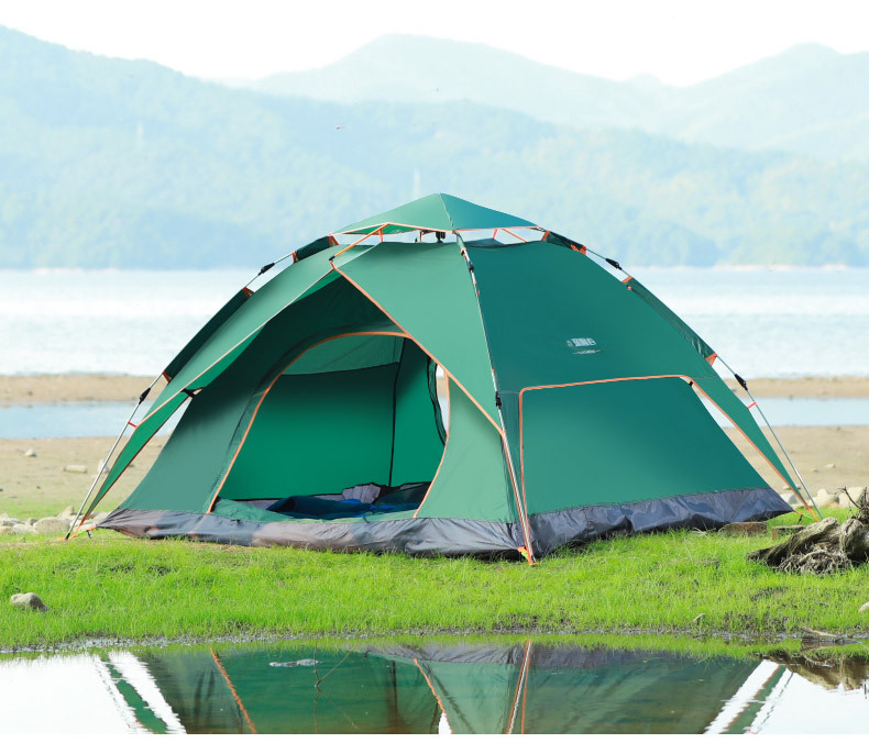 Outdoor Waterproof 1-2 Person Hiking Military Beach Folding Automatic Popup Instant Camping Tent
