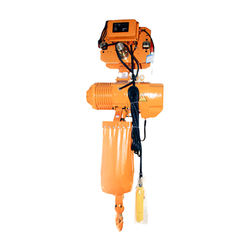 5 ton electric chain hoist  operating single-speed electric chain hoist