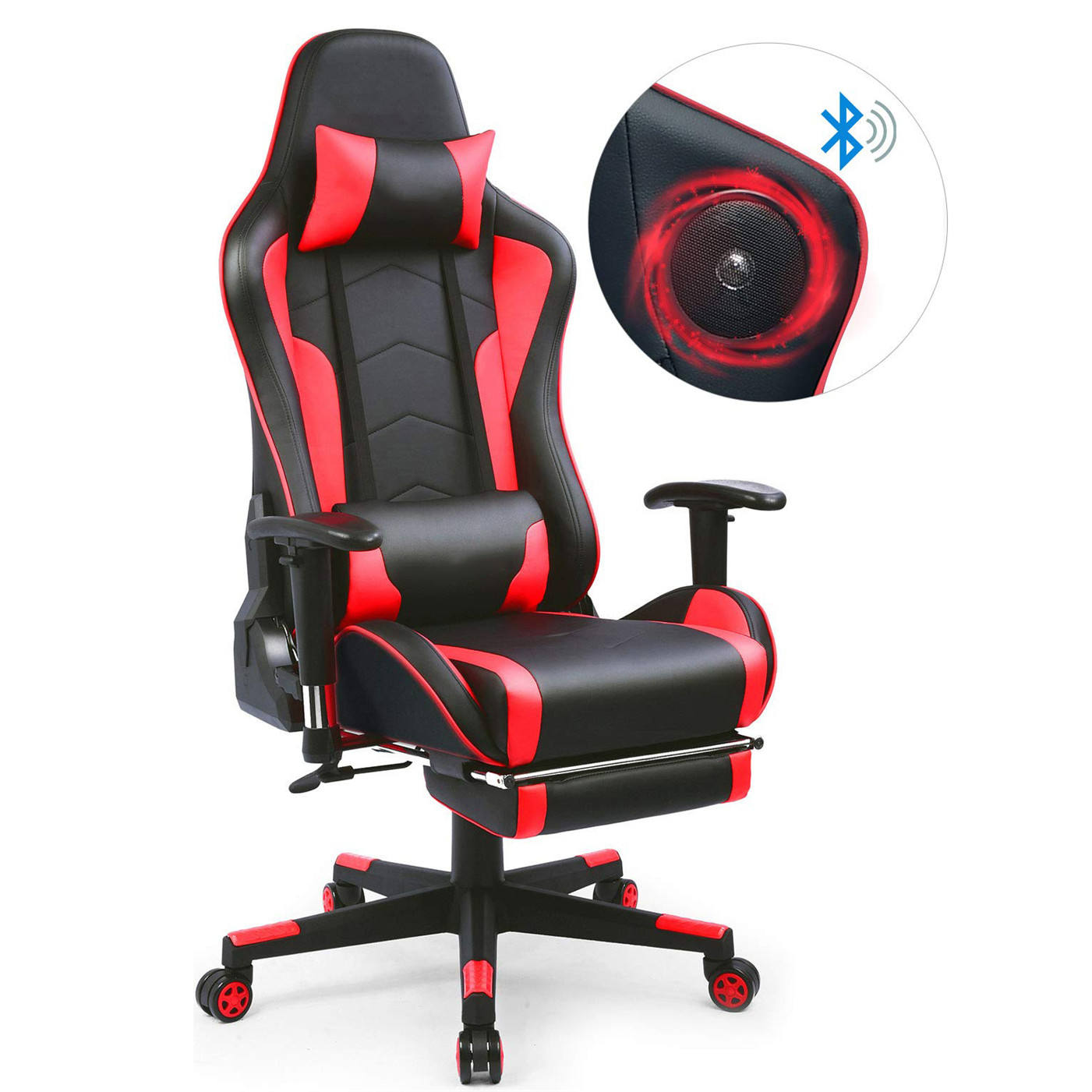 Hot Sale Fashion PC electric Best Gaming Chair With Speaker Game Racing Chair wheel Swivel reclining Gaming Office Chair