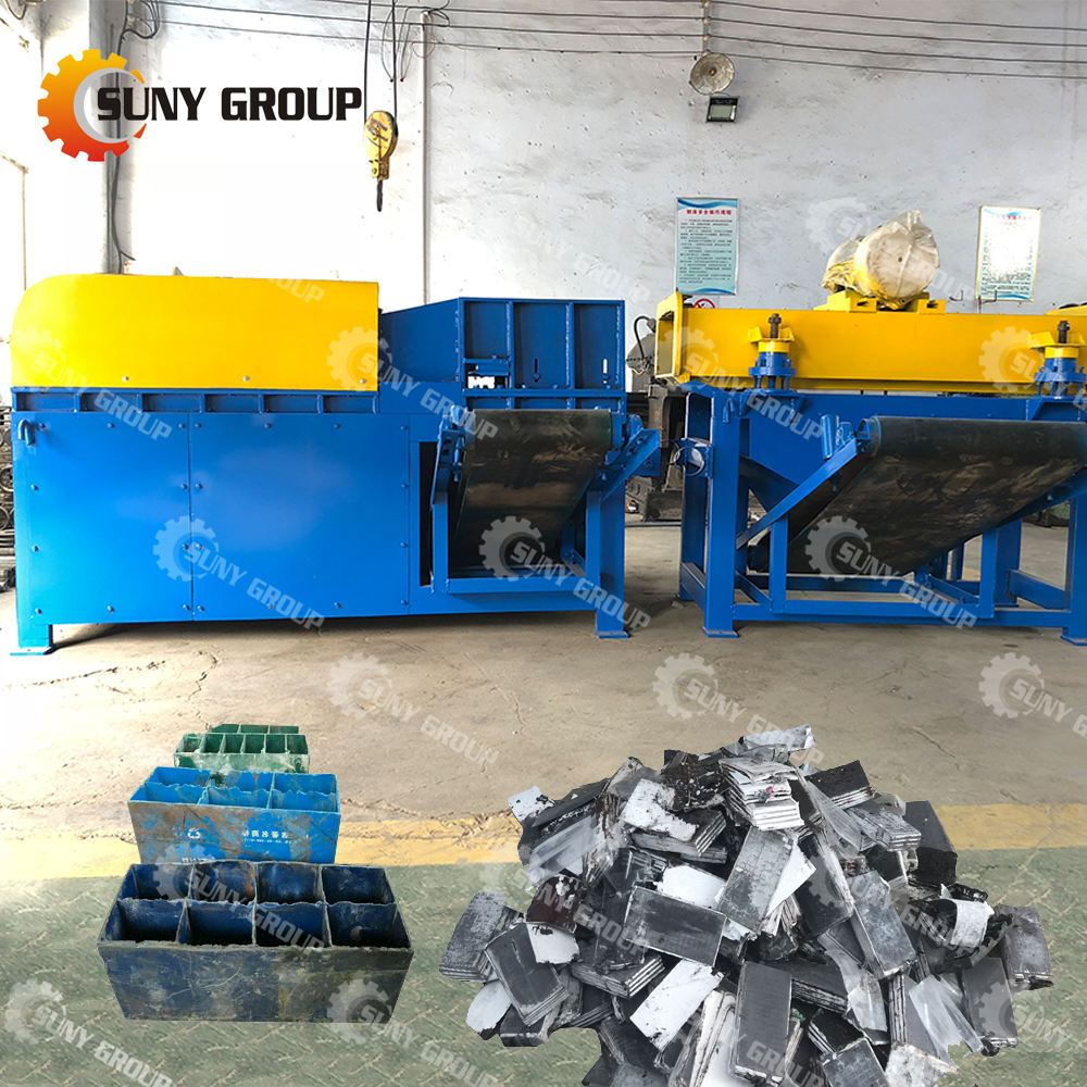 Used Vehicle Car Lead Acid Battery Recycling Machine For Lead