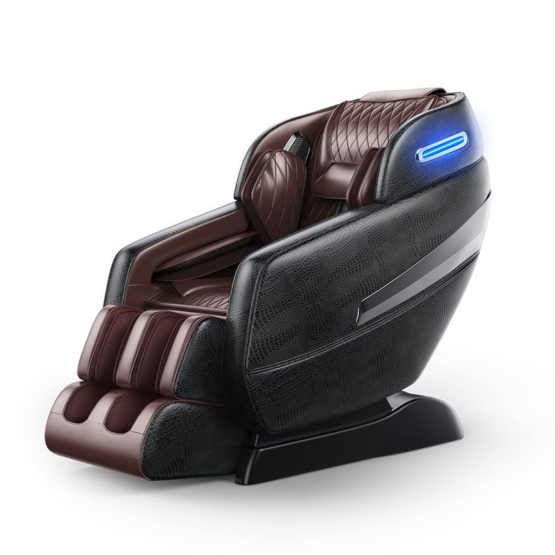 2020 factory sales full body leather Latest luxury sofa cheap price zero gravity furniture shiatsu foot 3D massage chair