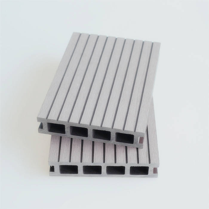 Waterproof wood plastic composite terrace outdoor decking flooring
