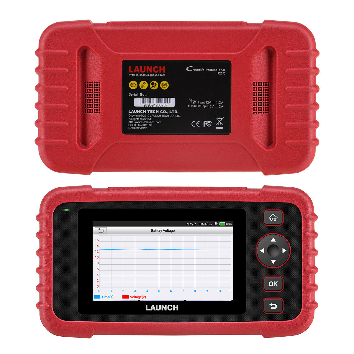 100% Original Launch crp 123x Launch crp 123 launch 123 Diagnostic Machine