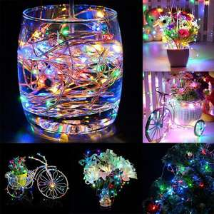 High quality copper wire led string lights for christmas tree protection
