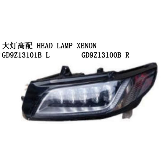 OEM GD9Z13101B L GD9Z13100B R FÜR LINCOLN CONTINENTAL AUTO AUTO KOPF LAMPE <span class=keywords><strong>XENON</strong></span>