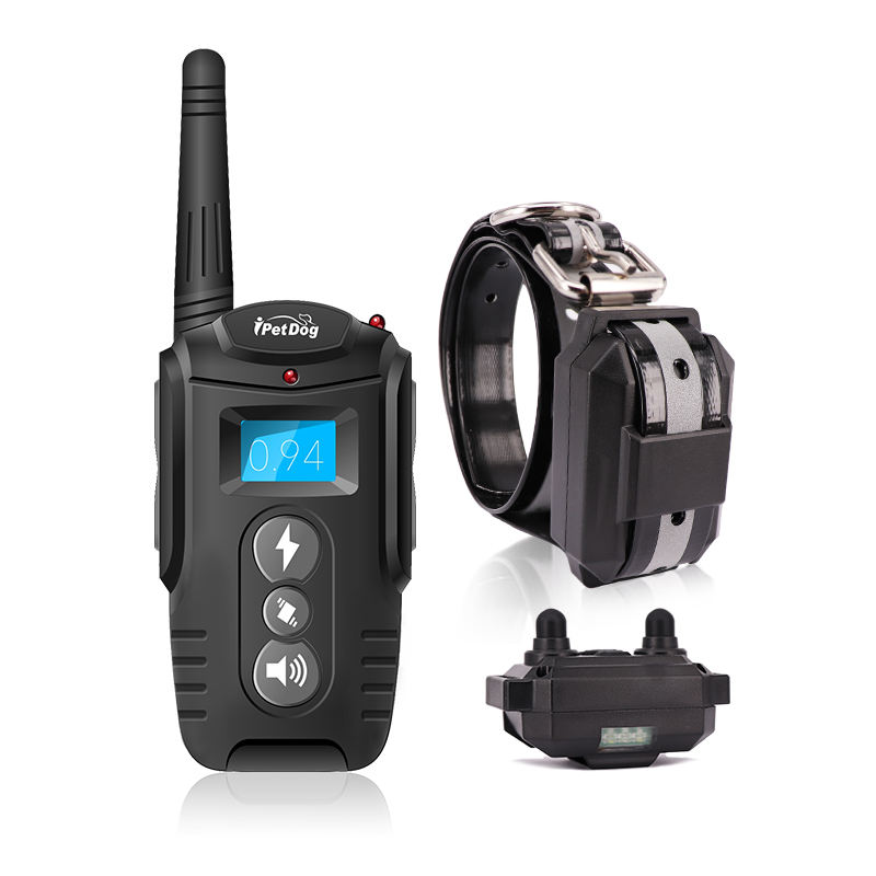 Rechargeable 300M Remote Dog Training Collar for 3 Dogs 100 levels Vibration