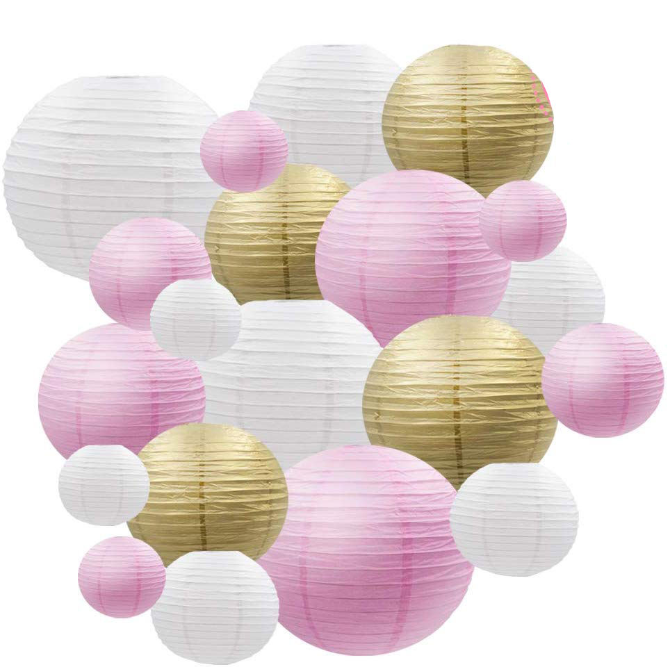 One-Stop Service [ Paper ] Paperpaper Paper Lanterns Decoration [I AM YOUR FANS]Round Party Lanterns Decorations Paper Lantern