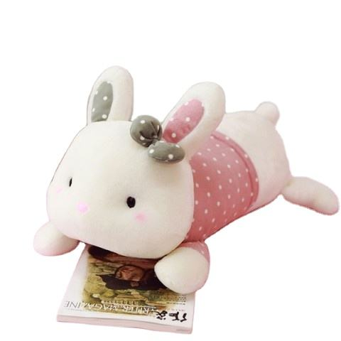 Wholesale hight quality soft rabbit pillow bolster animals stuffed toy safe for children from Vietnam/teddy bear plush Toys