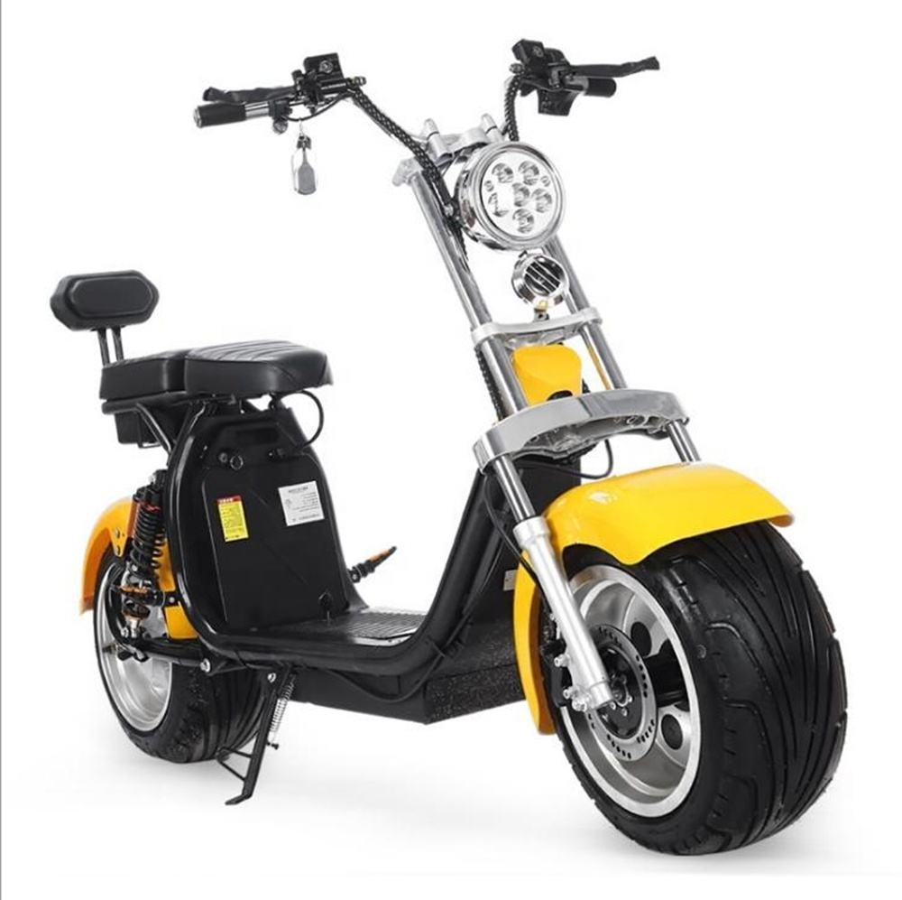 Smarda 1000w 1500w citycoco scooter two wheel electric scooter electric motorcycle