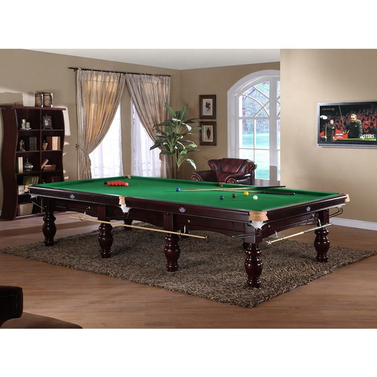Factory Wholesale Standard Size Billiard Table 12ft Snooker Table