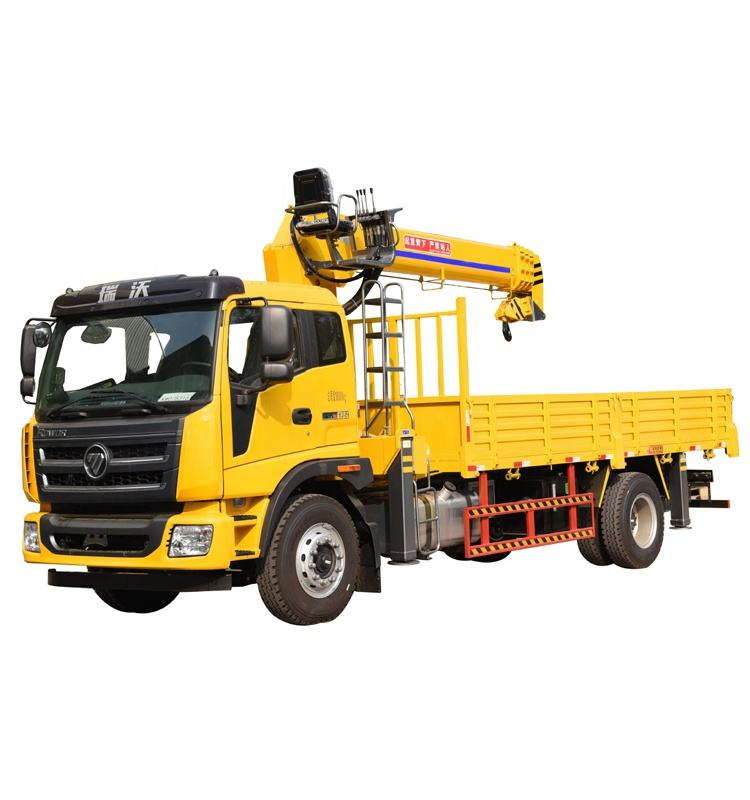 used 8 ton truck with crane