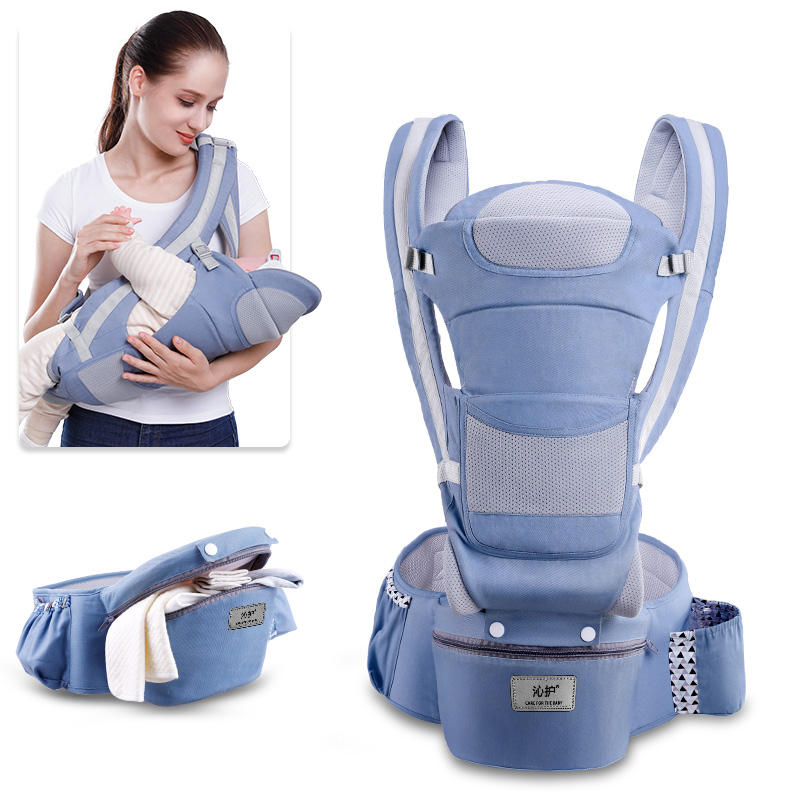 2019 NEW Design wholesale Ergonomic Baby Carrier multifunction hip seat Carrier Sling Wrap cangaroo Carrier