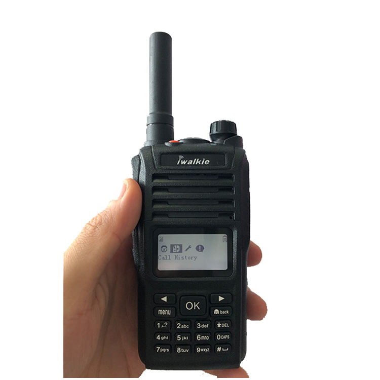 Rete di Telefonia mobile IP67 Impermeabile Wifi GPS Bluetooth Zello Walkie Talkie PTT