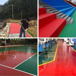 JIANBANG Acrylic polyurethane paint for outdoor basketball court floor