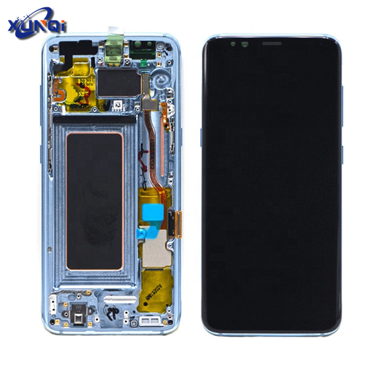 2019 New Arrival Cell Phone lcd for samsung galaxy S8+ LCD Display, Assembly galaxy S8 plus Screen Digitizer with frame