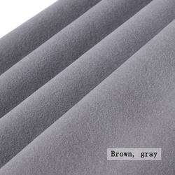 Nylon fluff sofa flannelette fabric matte flannelette flocking sofa fabric for sofa seat cover home fabric