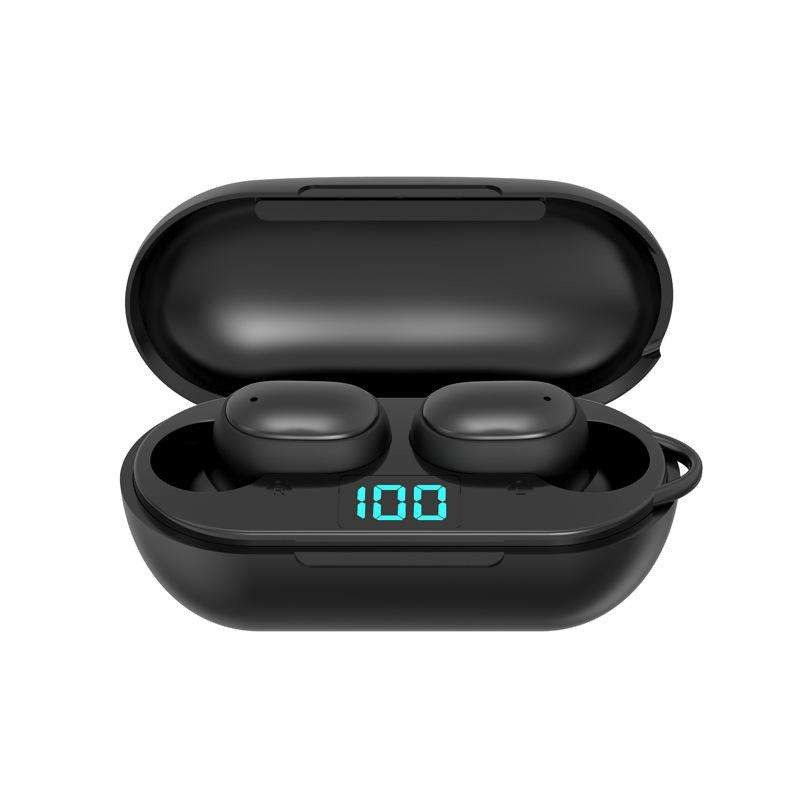 Tahan Air Earphone dan Usb Tws Portable Di-Ear Earphone Fungsi Sentuh Auto Terhubung Ke Ponsel Nirkabel Earbud Built-di MIC