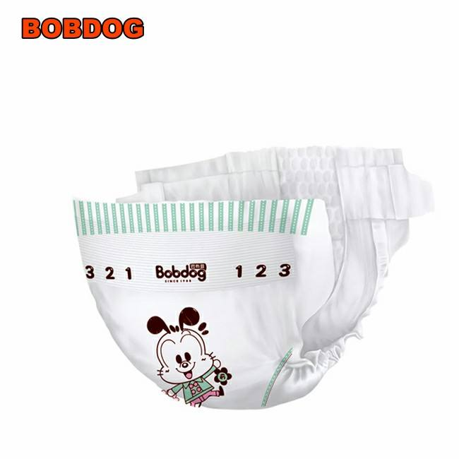 Raws materials elastic nonwoven waistband Chine Factory Supply Soft Breathable Ultra-thin Disposable Baby Diapers