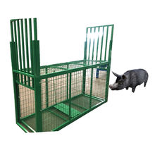 Live life catcher wire cage bait guinea small and big pet wild pig trap
